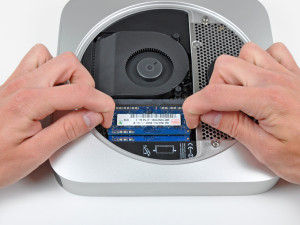 Installing RAM in Mac Mini